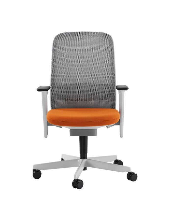 prikaz Riya Bene ergonomske uredske stolice s podesivim rukonaslonima