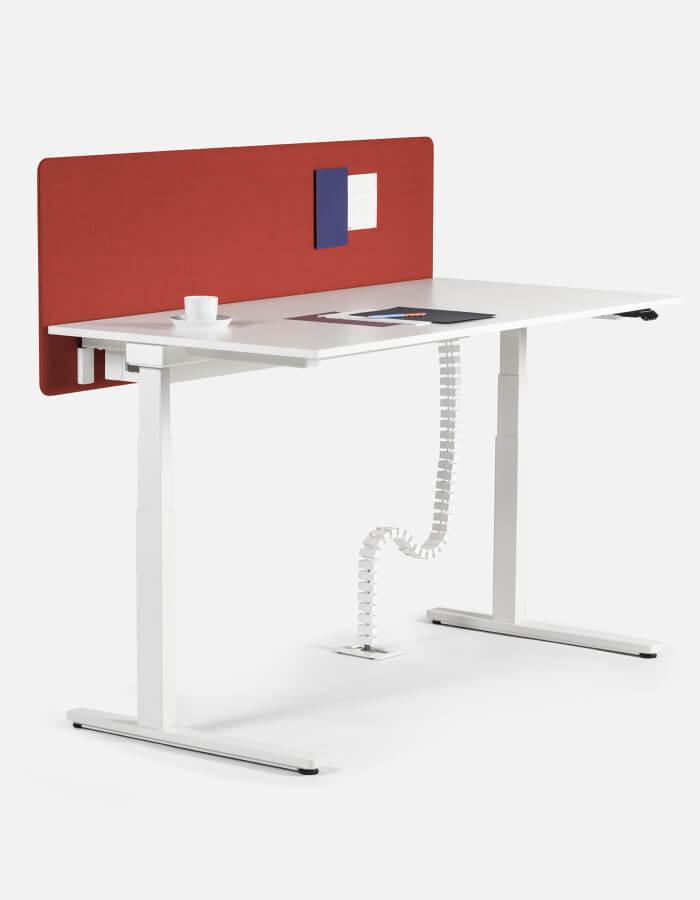 Level Lift radni stol podesiv po visini s C nogama