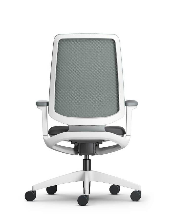prikaz ergonomske uredske stolice se flex sedus s leda