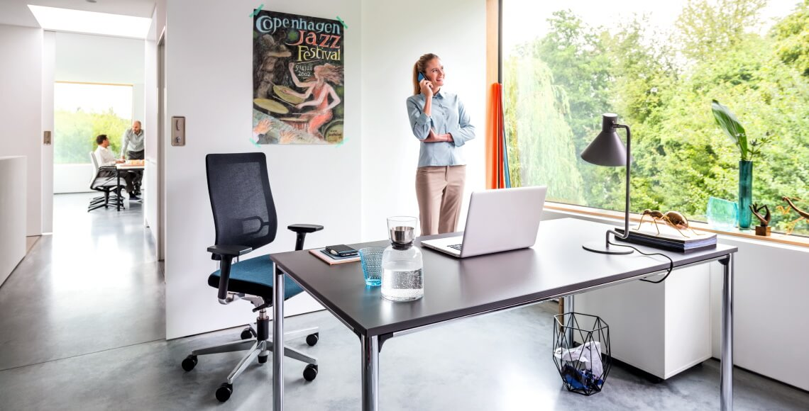 temptation four radni stol i black dot ergonomska uredska stolica