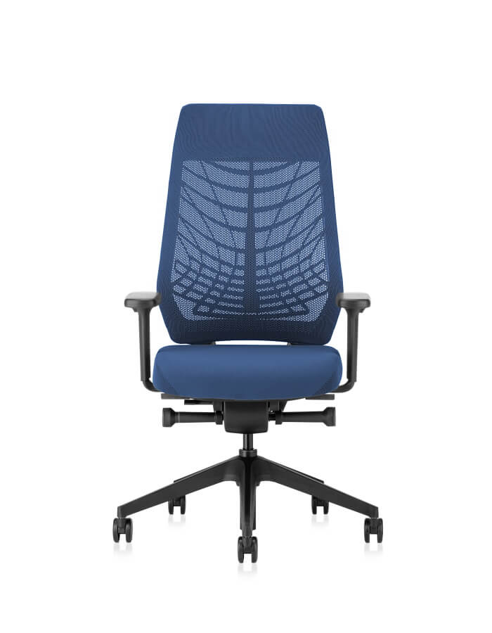 plava ergonomska uredska stolica JOYCEis3