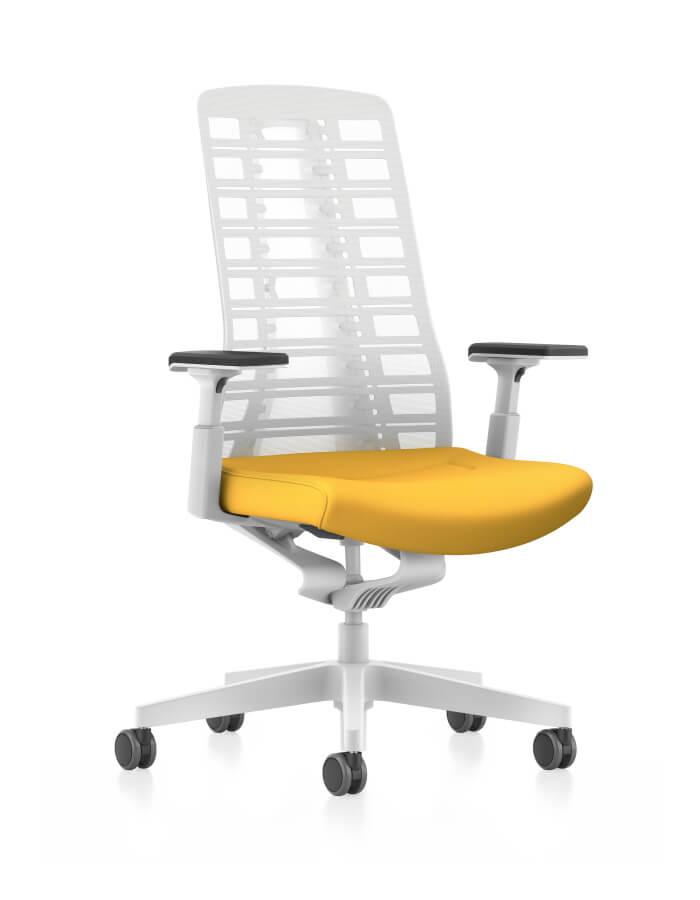 prikaz PUREis3 Interstuhl ergonomske uredske stolice s prozirnim naslonom